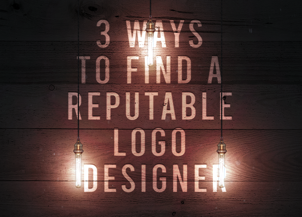 3 Ways To Find A Reputable Logo Designer
